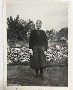 Miroslav's grandmother, circa 1960, taken in Bukovica, Croatia. Born in 1901, she raised 11 kids, lived through two world wars and the civil war of the 1990s.